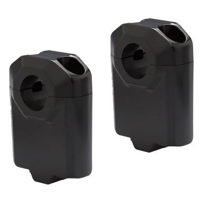 Rehausse de guidon SW Motech Ø 22 mm H=50 mm noir