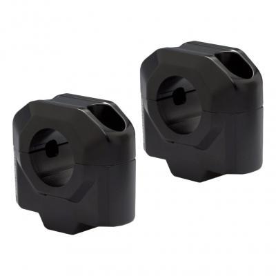 Réhausses de guidon SW-MOTECH +30 mm noirs Ø28,6 mm