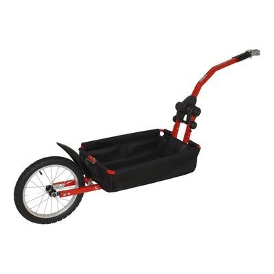 Remorque vélo porte bagages Peruzzo fixation tige de selle