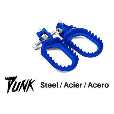 Repose-pied racing S3 Punk acier bleu pour Husqvarna FC 250 / KTM 250 EC-F
