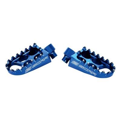Repose pieds Scar bleus Yamaha Ténéré 700 19-21