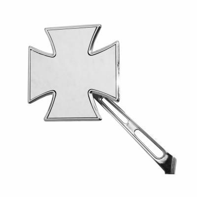 Rétroviseur Vicma gauche Croix de malte chrome