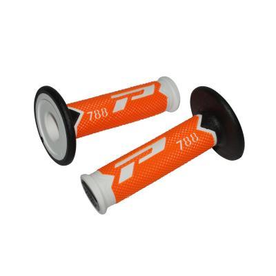 Revêtements de poignée 788 Progrip blanc/orange fluo/noir