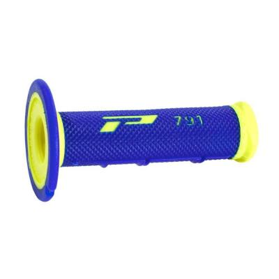 Revêtements de poignée Progrip 791 Closed end bleu/jaune fluo