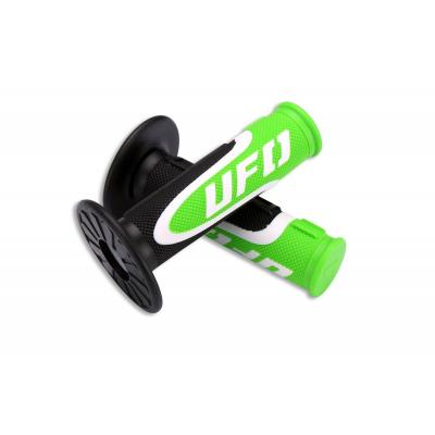 Revêtements de poignée UFO Axiom noir/vert/blanc