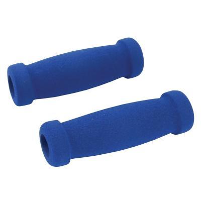 Revêtements de poignées en mousse bleue