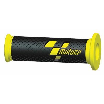 Revêtements de poignées MotoGP noir/jaune