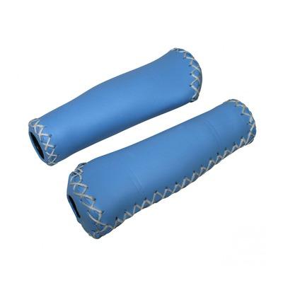 Revêtements de poignées vélo Newton Grip 310 bleu clair (longueur 135mm)