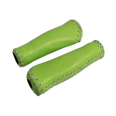 Revêtements de poignées vélo Newton Grip 310 vert clair (longueur 135mm)