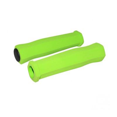 Revêtements de poignées vélo Newton Mousse haute densité vert