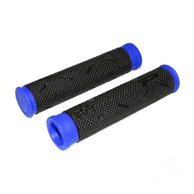 Revêtements de poignées vélo Progrip 808 noir/bleu