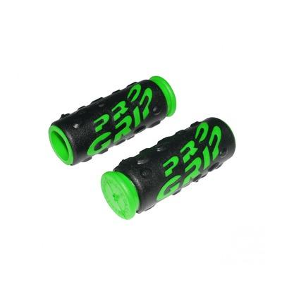 Revêtements de poignées vélo Progrip 952 noir/vert