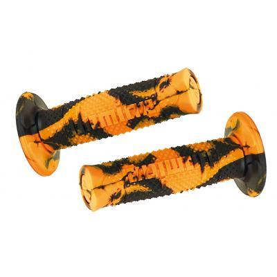 Revêtements Domino Snake orange/noir