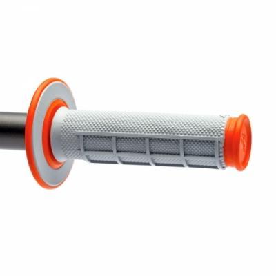 Revêtements MX Renthal Dual Grip gris / orange