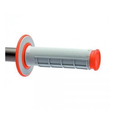 Revêtements MX Renthal Dual Grip gris / rouge