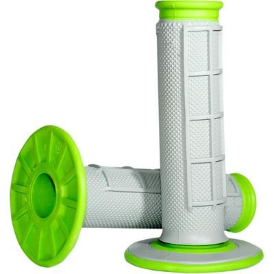 Revêtements MX Renthal Dual Grip gris / vert