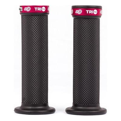 Revêtements S3 pour moto Trial Trifix full grip rouge