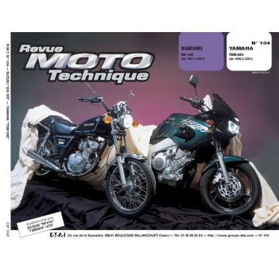Revue Moto Technique 104.2 Suzuki GN 125 / Yamaha TDM 850