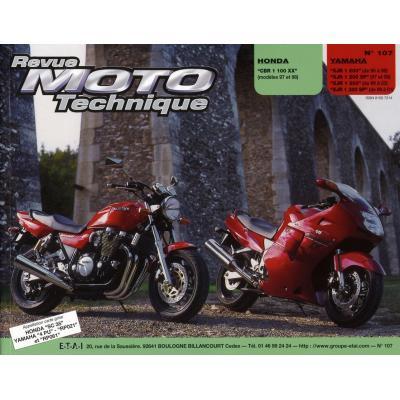Revue Moto Technique 107.2 Honda CBR 1997 / Yamaha XJR 95-03