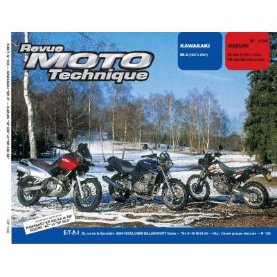 Revue Moto Technique 108.2 Kawasaki ER-5 / Suzuki DR650SE / XF650
