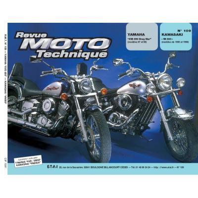 Revue Moto Technique 109.1 Yamaha XVS 650 / Kawasaki VN800