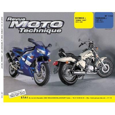 Revue Moto Technique 112.2 Kymco 125 / Yamaha R1