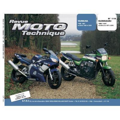 Revue Moto Technique 116.1 Yamaha YZF 99-00 / Kawasaki ZRX 1100 97-00