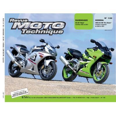 Revue Moto Technique 122.1 Kawasaki ZX-6R 00-01 / Honda CBR 900 RR (injection) 00-01