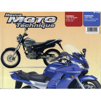 Revue Moto Technique 129.1 Honda CLR 125 / Yamaha FJR 1300