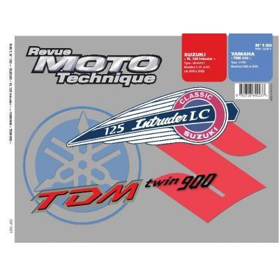 Revue Moto Technique 130.1 Suzuki VL125 / Yamaha TDM900