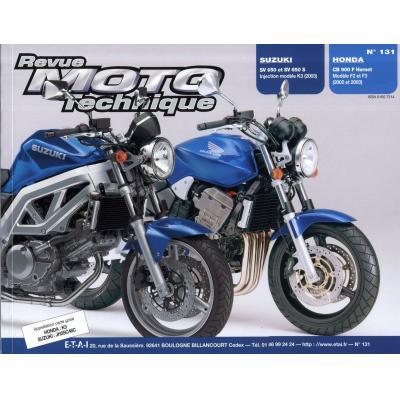 Revue Moto Technique 131.1 Suzuki SV650 S/N / Honda CB900F2 Hornet