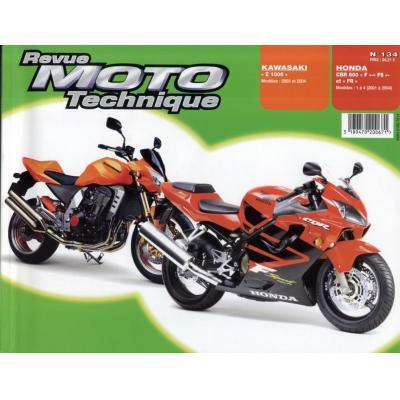 Revue Moto Technique 134.1 Honda CBR 600 F/FS 01-04 / Kawasaki Z1000 01-03