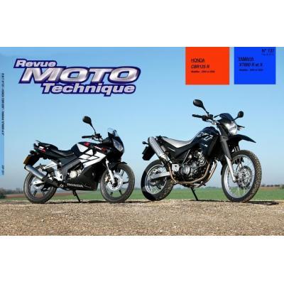 Revue Moto Technique 137.1 Honda CBR 125R 04-05 / Yamaha XT660R - Z