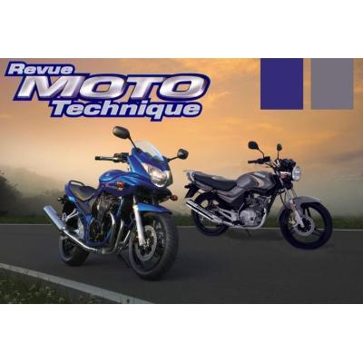 Revue Moto Technique 139.1 Yamaha YBR 125 / XT 125 R / Suzuki GSF 650/S/A/SA 05-06