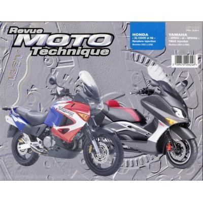 Revue Moto Technique 140.1 Honda XL1000V-VA / Yamaha T-MAX XP 500-500 A