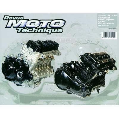 Revue Moto Technique 142.1 Triumph 3 cylindres 97-06