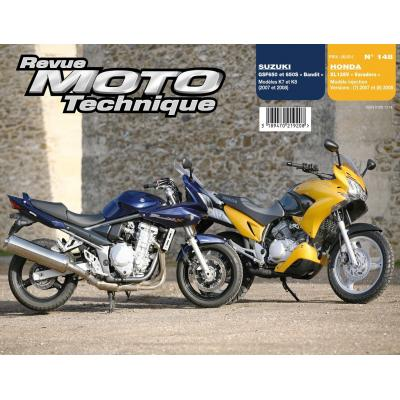 Revue Moto Technique 148.1 Honda XL 125 V Varadero / Suzuki GSF 650/650S