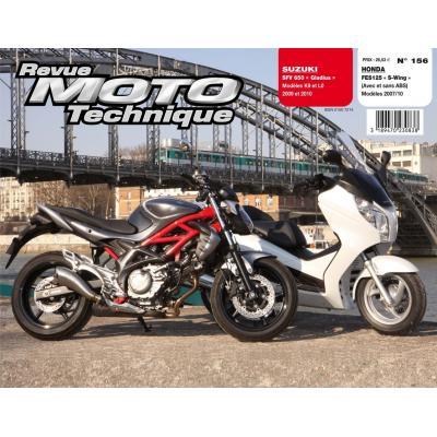 Revue Moto Technique 156.1 Honda 125 S-WING / Suzuki SFV 650 Gladius