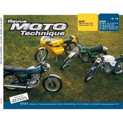 Revue Moto Technique 16 Suzuki GT 125 L / GT 185 M / Sachs types 1251/1751