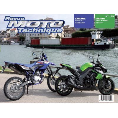 Revue Moto Technique 163 Yamaha WR 125 R-X 09-12 / Kawasaki Z1000 - SX 10-12