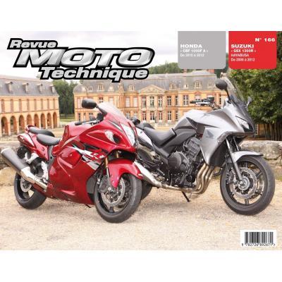 Revue Moto Technique 166 Honda CBF 1000 FA 10-12 / Suzuki GSX 1300 R Hayabusa