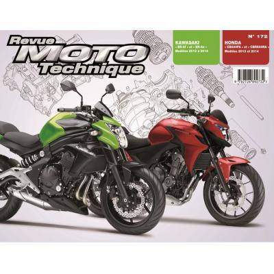 Revue Moto Technique 172 Honda CB / CBR 500 13-14 / Kawasaki ER-6N/F 12-14