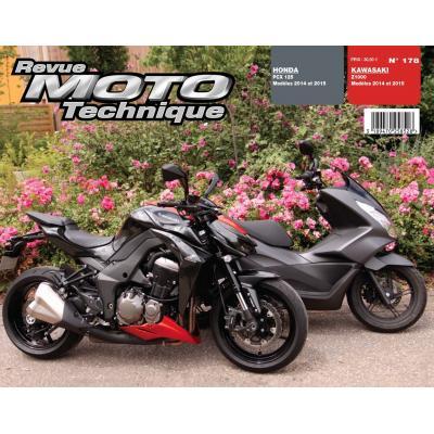 Revue Moto Technique 178 Kawasaki Z1000 14-15 / Honda PCX 125 14-15