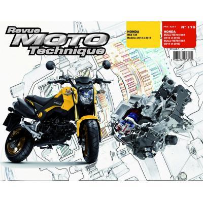 Revue Moto Technique 179 Honda MSX 125 13-15 / Moteurs NC700-750DCT 12-15
