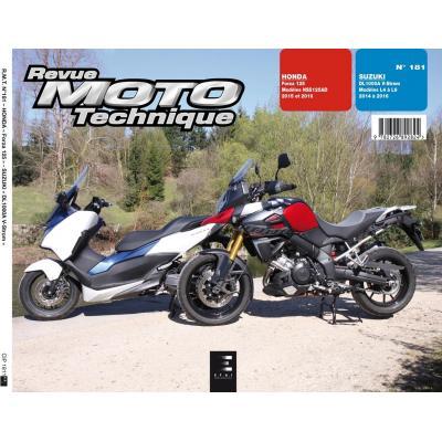 Revue Moto Technique 181 Honda Forza 125 15-16 / Suzuki V-Strom 1000 14-16