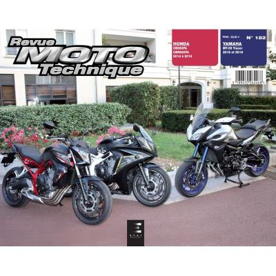 Revue Moto Technique 182 Yamaha MT-09 Tracer 15-16 / Honda CB650 FAE 14-16