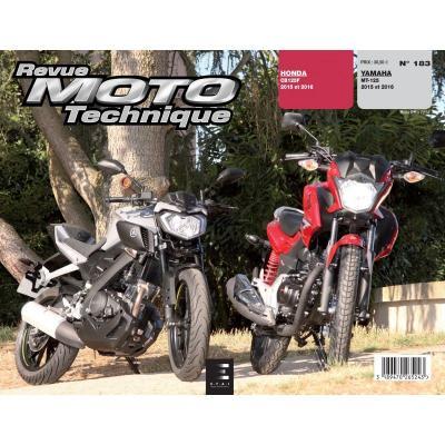 Revue Moto Technique 183 Honda CB 125 F / Yamaha MT 125