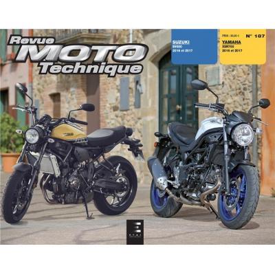 Revue Moto Technique 187 Suzuki SV 650 16-17 / Yamaha XSR 700 16-17