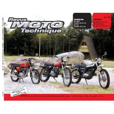 Revue Moto Technique 22.1 Honda CB 125S-N-XL-TL / Yamaha DT125F-DT175F