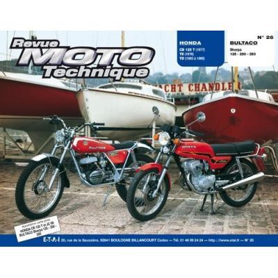 Revue Moto Technique 26 Honda CB125T-TII-TD / Bultaco Sherpa 125-350